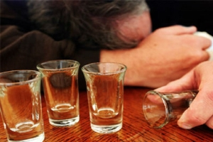 Пьющий находится в запое