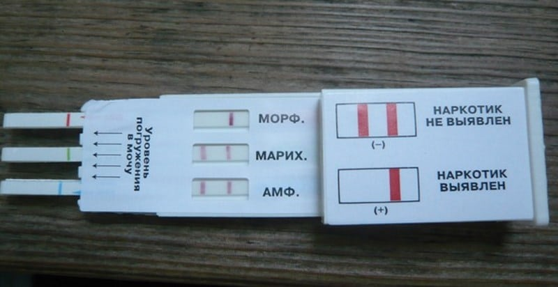 Экспресс тестирование на наркотики в Одинцово