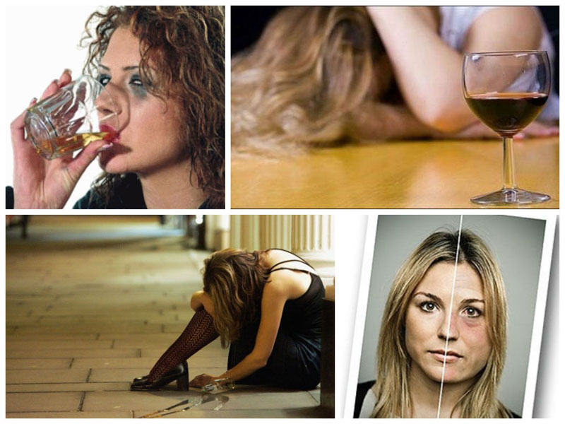 воздействие алкоголя на женский организм