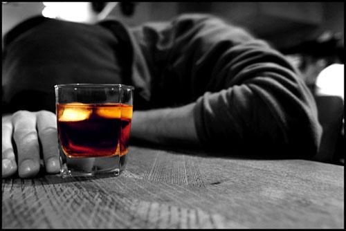 сильное опьянение
